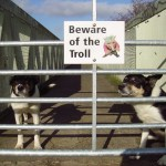 Troll Sign - Hare Farm