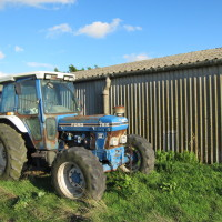 Old Tractor - Forty Acre Farm