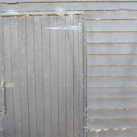 Shed door - Forty Acre Farm