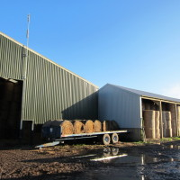 Forty Acre Farm - Bale Storage