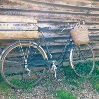 Brick House Farm - Vintage bike