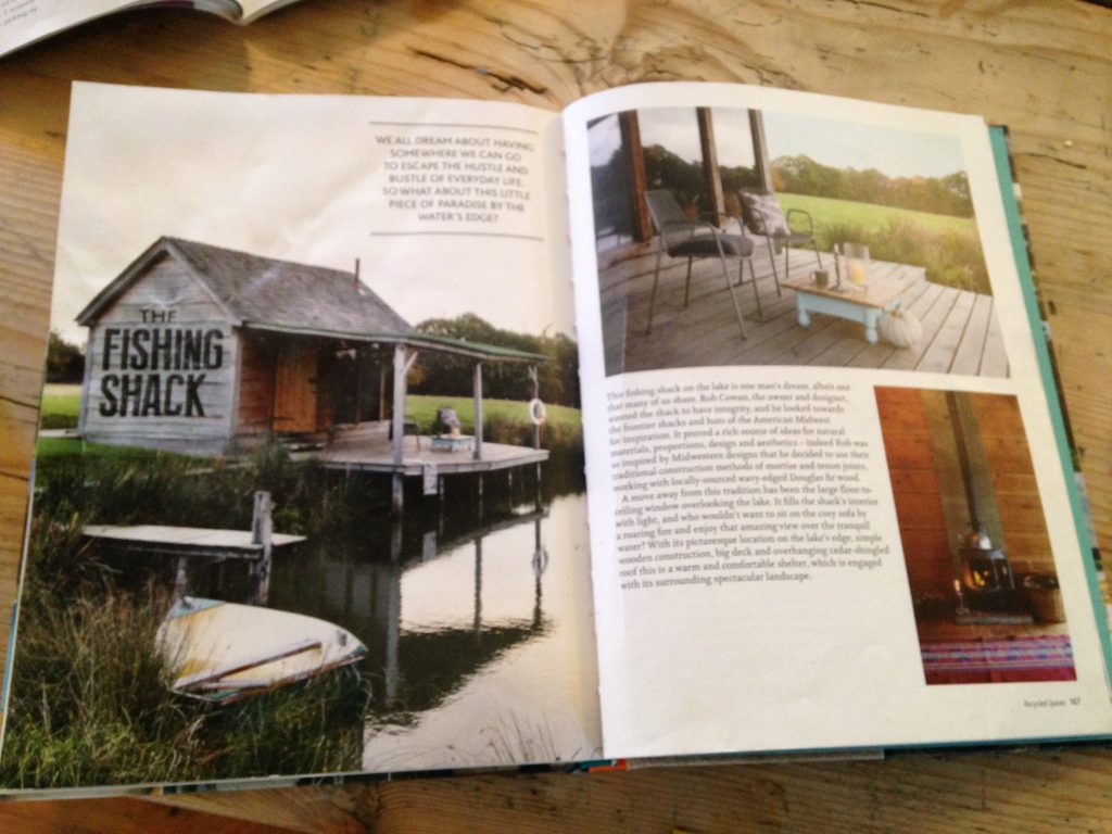 Brick House Farm featured in George Clarke's Amazing Spaces - Fishing shack