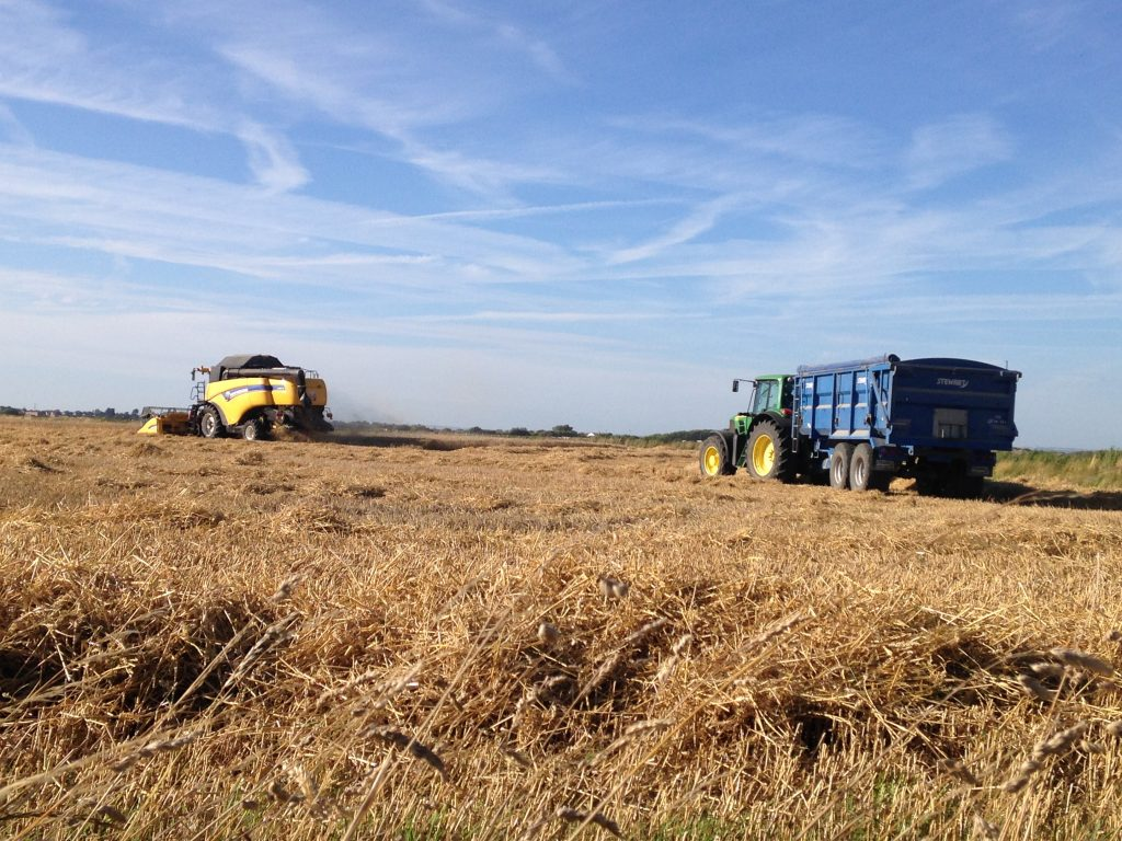 Harvest machines - Forty Acre Farm