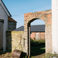 Arch at Lidham Hill Farm