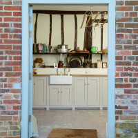 Dairy door at Lidham Hill Farm