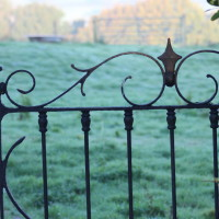 Garden Gate at Lidham Hill Farm