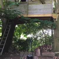 Treehouse at Lidham Hill Farm