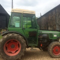 Old Fendt tractor - Austin Farm