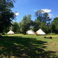 Quarrenden Farm bell tents
